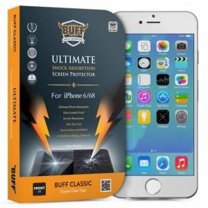 Buff iPhone 6 / 6S Darbe Emici Kırılmaz Ekran Koruyucu Film