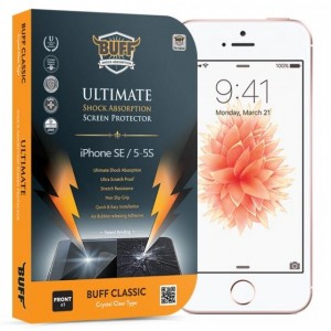 Buff iPhone 5 / 5S / SE Darbe Emici Kırılmaz Ekran Koruyucu Film