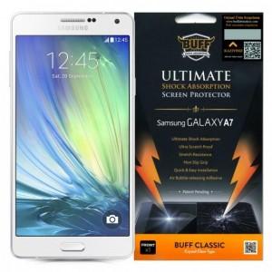 Buff Samsung Galaxy A7 A700 Darbe Emici Kırılmaz Ekran Koruyucu Film