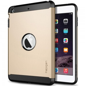 SPIGEN APPLE IPAD MİNİ/MİNİ 2/MİNİ 3 TOUGH ARMOR CHAMPAGNE GOLD